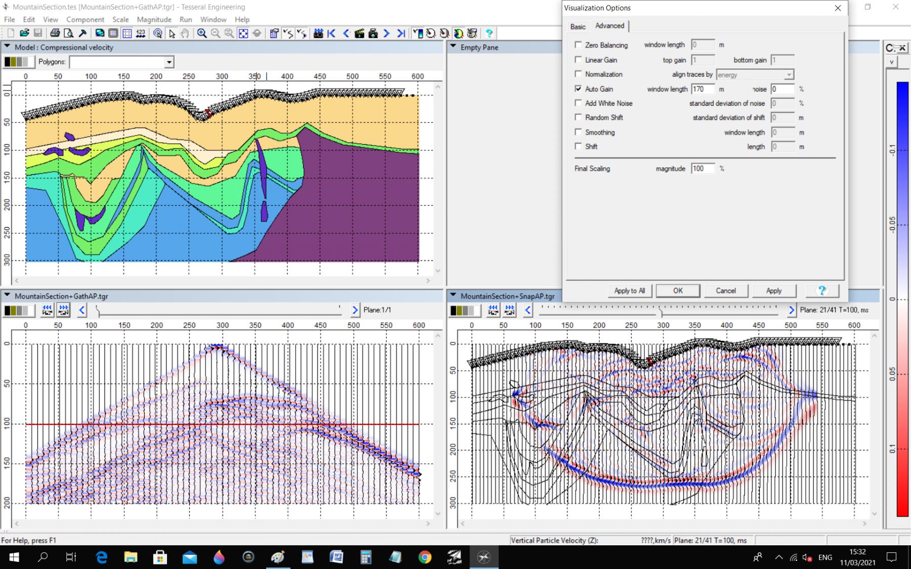 Phần mềm mô hình hóa dữ liệu địa chấn Tesseral Engineering